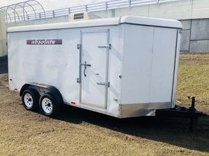 7x16 Enclosed Trailer With Brakes