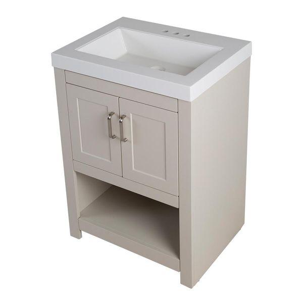 pretty glacier bay furniture. New Glacier Bay Fairlake 24in Creme Off White Vanity with Cultured  Marble Top
