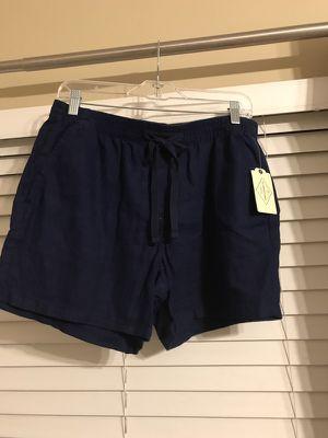 Brand New navy shorts. Size Medium