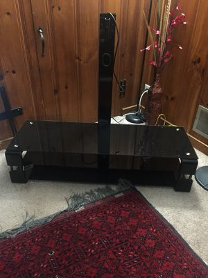TV stand with TV mount included