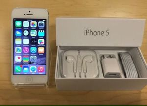 Factory unlocked iPhone 5 + box & accessories