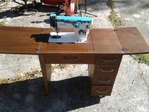 Vintage Antique Sewing Table