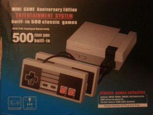 Mini entertainment system 500 Nintendo games