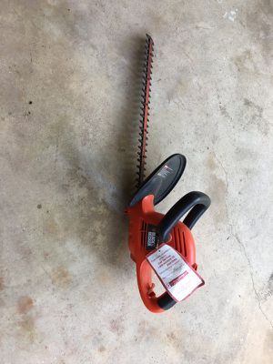 Black and decker electrical trimmer
