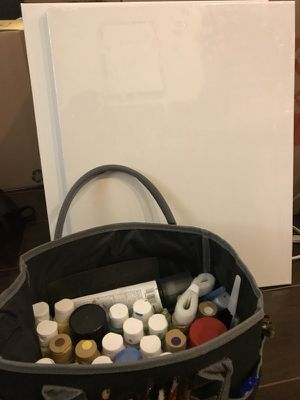 Paint and crafts set