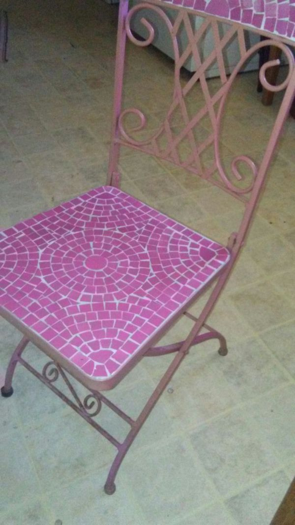 Pink Tiled Chairs Furniture In Mesa Az Offerup
