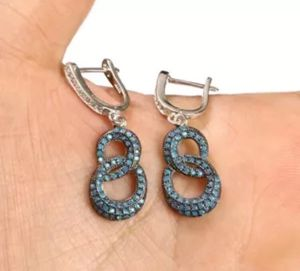 925 Sterling Silver, Turkish Turquoise, Earrings