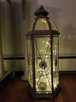 Pier 1 lantern light included