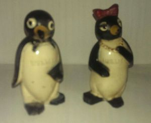 Willie amd Millie Salt and Pepper Shakers