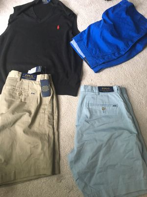 Ralph Lauren polo shorts and vest size 36