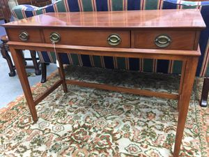 Small sideboard- sofa table (solid cherry wood)