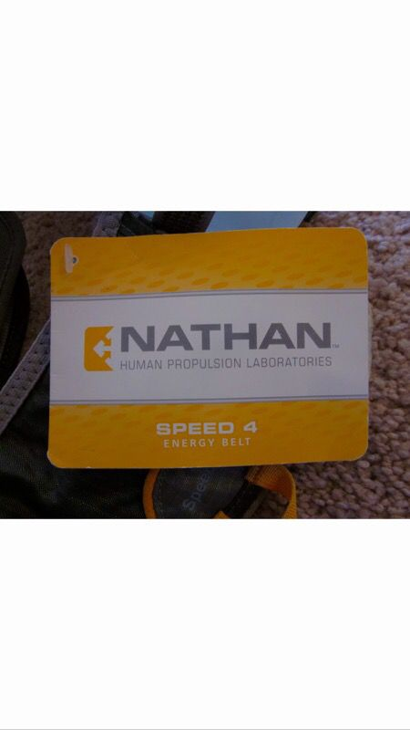 Nathan Human Propulsion Lab Speed 4 Energy Belt Sports