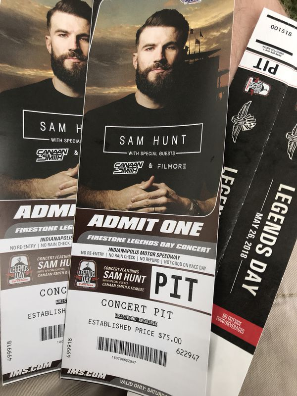 Buy sam hunt vip tickets awesome tits m4hsunfo