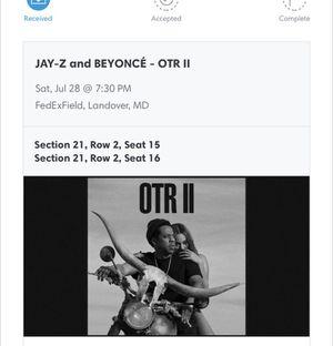 OTR II Beyoncé and Jay-Z On The Run 2