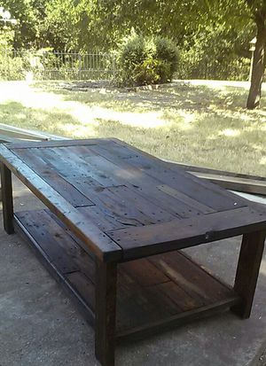 Rustic Coffee Tables Custom Made Furniture In Fort