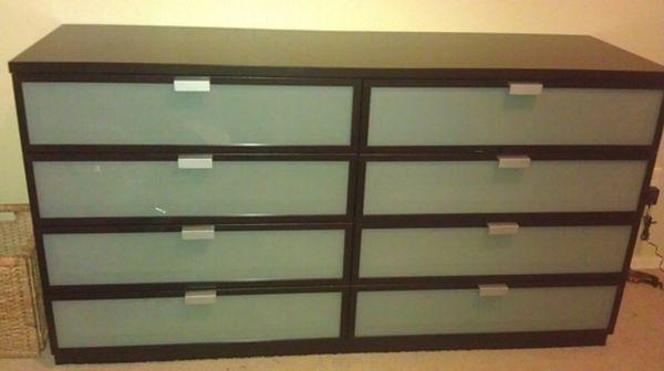 favorite this post IKEA Hopen 8 Drawer Dresser  Black Brown  Frosted Glass. favorite this post IKEA Hopen 8 Drawer Dresser  Black Brown