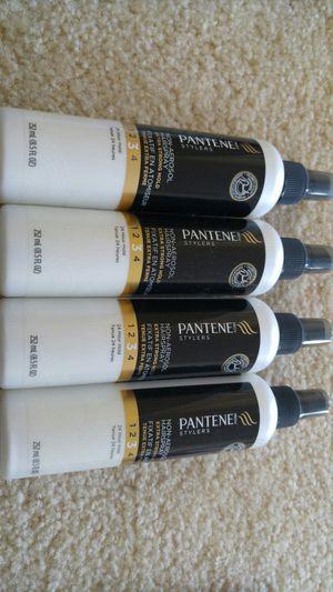 Four pantene extra strong hold hair spray