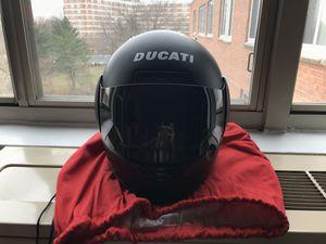 Ducati Motorcycle Black Helmet Size L for $195 or Best Offer