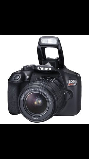Canon EOS rebel T6 like new