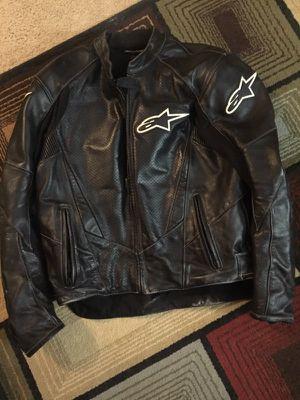 Alpine star leather riding jacket
