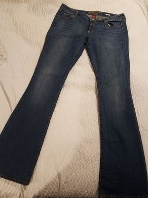 Long boot cut jeans