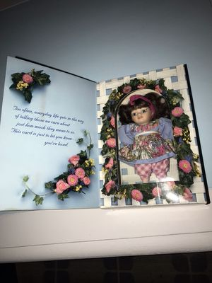 Marie Osmond Mother's Day Greeting Card Doll