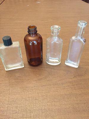 Vintage Medicine / Cologne Bottles