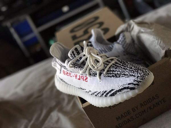 Collect Yeezy boost 350 v2 'Zebra' sply 350 solar red infant sizes