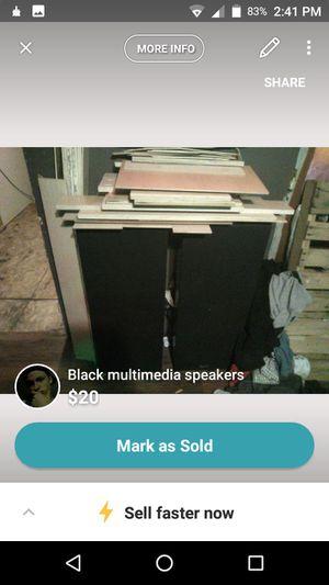 Old school Sanyo speakers