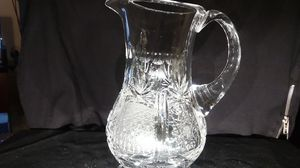 "9"" tall iced tea or lemonaid pitcher"