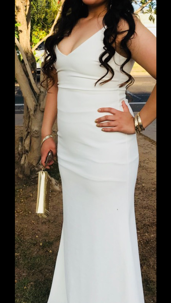 White Prom Dress (Clothing & Shoes) in Phoenix, AZ
