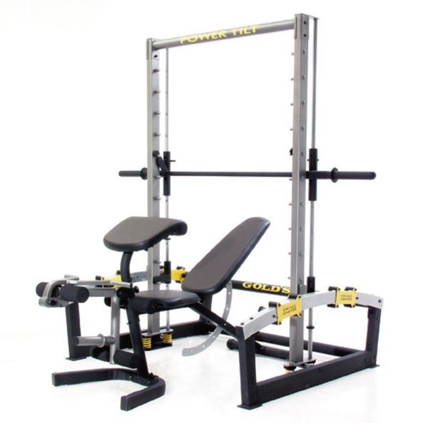 golds bench press machine