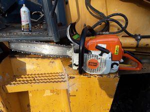 Stihl ms 290 chain saw ..realy nice saw