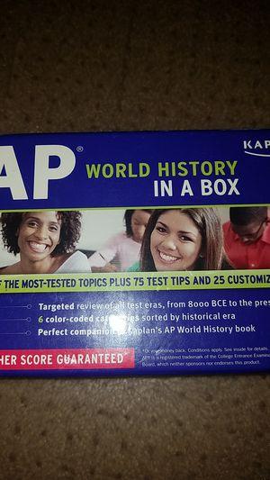 Kaplan AP World History in a box