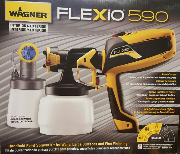 hvlp paint sprayer kit tools machinery in chicago il offerup. Black Bedroom Furniture Sets. Home Design Ideas