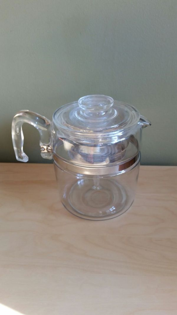 Pyrex Coffee Maker How To Use : Vintage Pyrex Coffee Maker (Antiques) in Chicago, IL - OfferUp