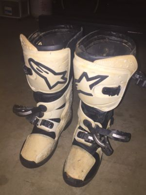 Alpinestars Youth Size 8 Riding Boots