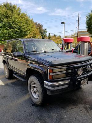 1992 Chevy K5 Blazer aka Tahoe
