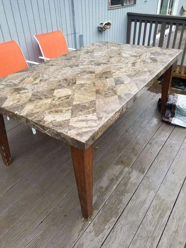 Marbel table furniture in federal way wa offerup for Furniture federal way