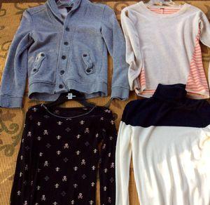 Women, teen, sweaters, tops, skirts. XS
