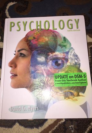 Psychology 10th Edition Textbook by David G Meyers