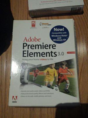 Adobe Premiere software