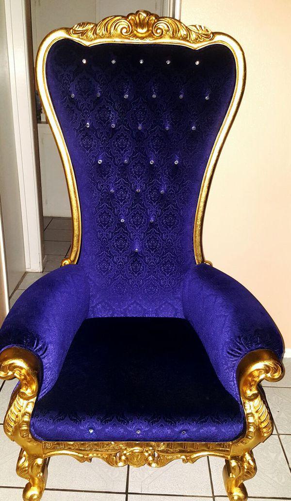 Throne Royalty King Royal Chair Furniture In Fontana Ca