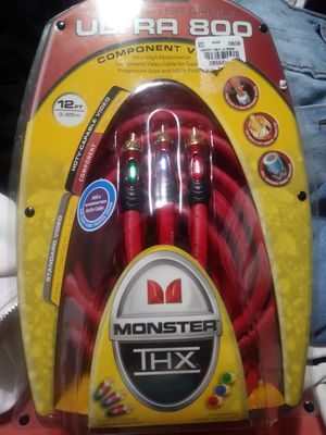 Monster cable ultra 800 component video