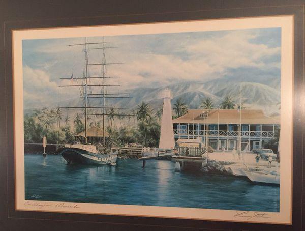 Maui Hawaii Carthaginian Amp Pioneer Inn Disney Artist