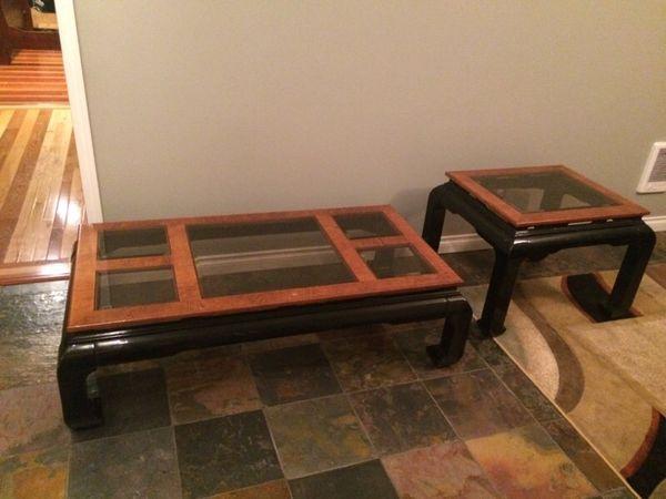 Coffee and end table furniture in auburn wa offerup for Furniture auburn wa