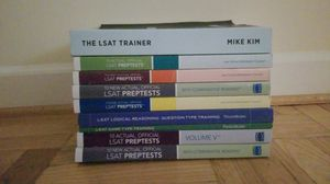 LSAT training books