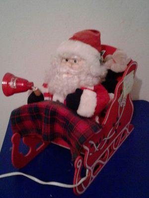 Santa sleigh Christmas