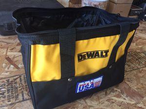 Dewalt Heavy duty tool bag/tote. See my page Milwaukee and Makita