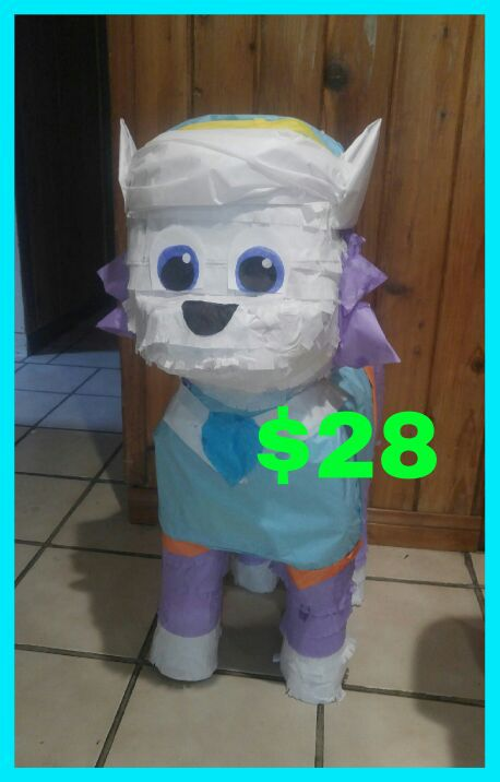 Paw patrol everest pinata arts crafts in north las for Arts and crafts las vegas
